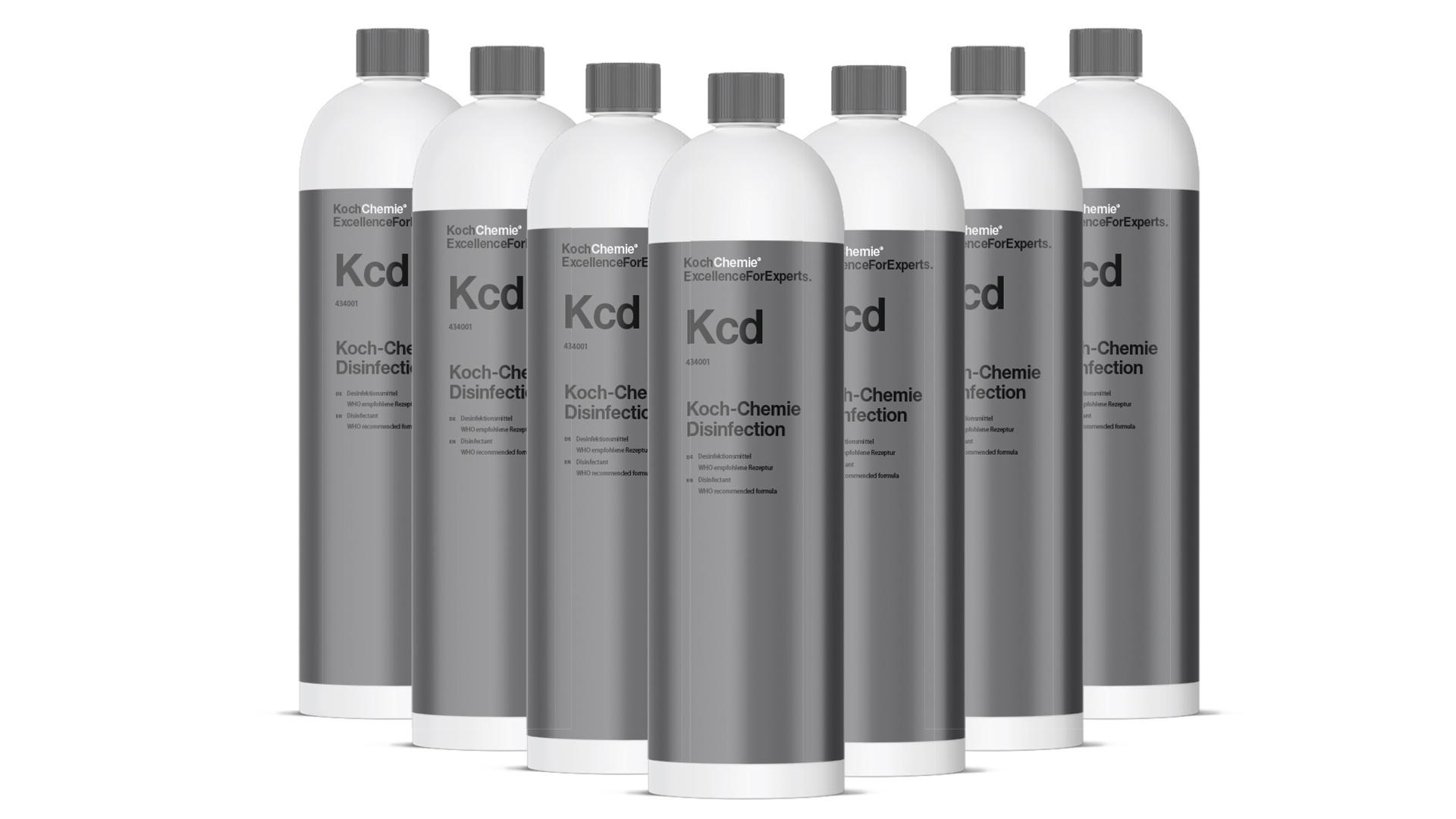 Koch-Chemie Disinfection Kcd - Desinfektionsmittel nach WHO-empfohlener Rezeptur