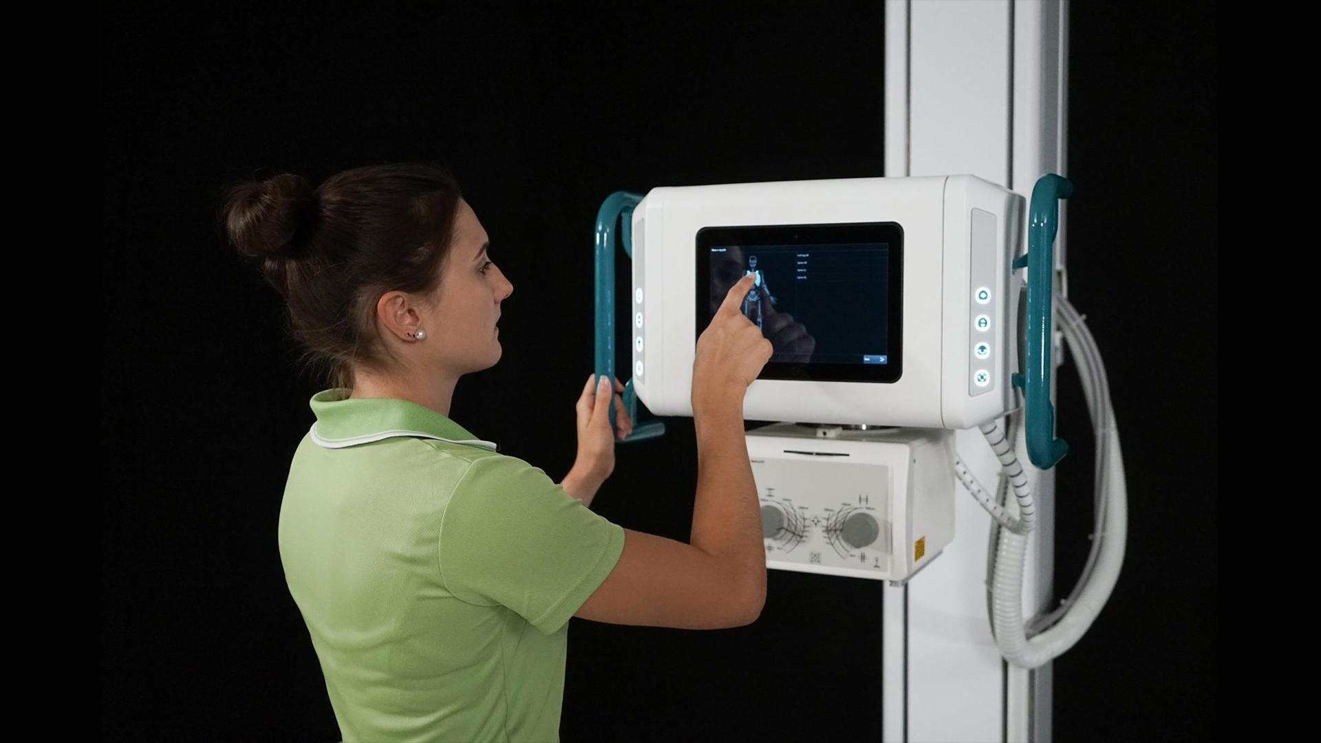 Röntgentechnik Bodengeführte Anlagen: protec PRS 500 F - Touch CONAXX2