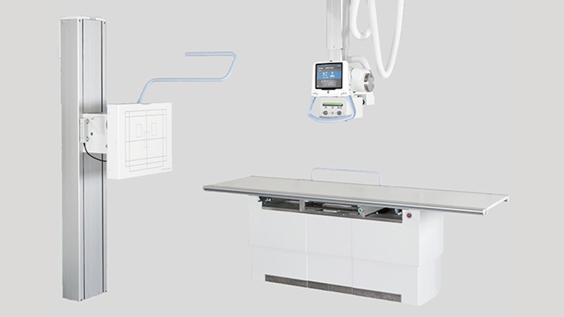 Röntgentechnik Deckengefuehrte Anlagen: Arcoma Intuition