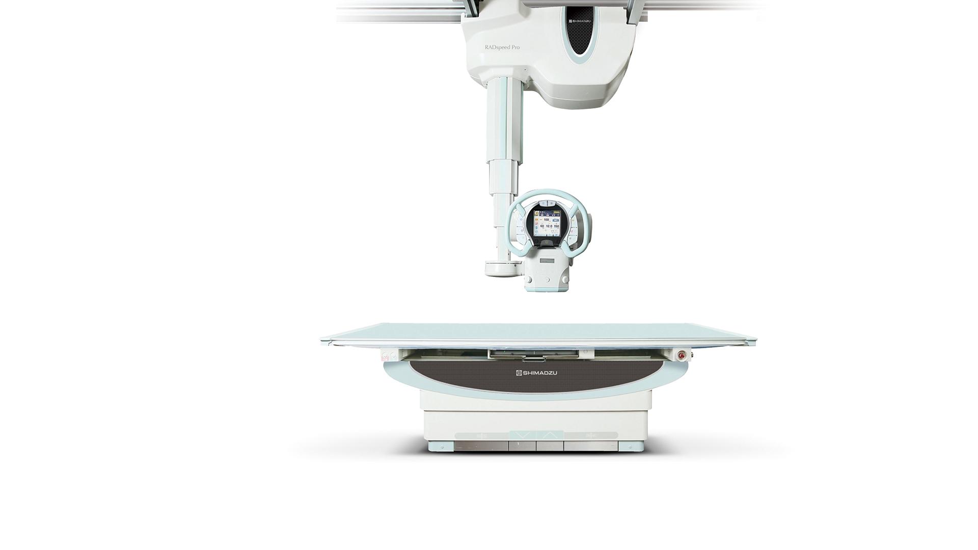 Röntgentechnik Deckengefuehrte Anlagen: Shimadzu RADspeed Pro EDGE