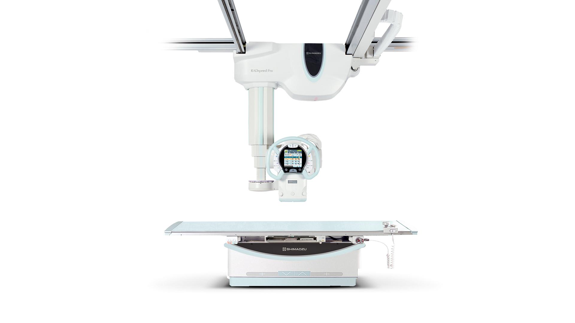 Röntgentechnik Deckengefuehrte Anlagen: RADspeed Pro DR