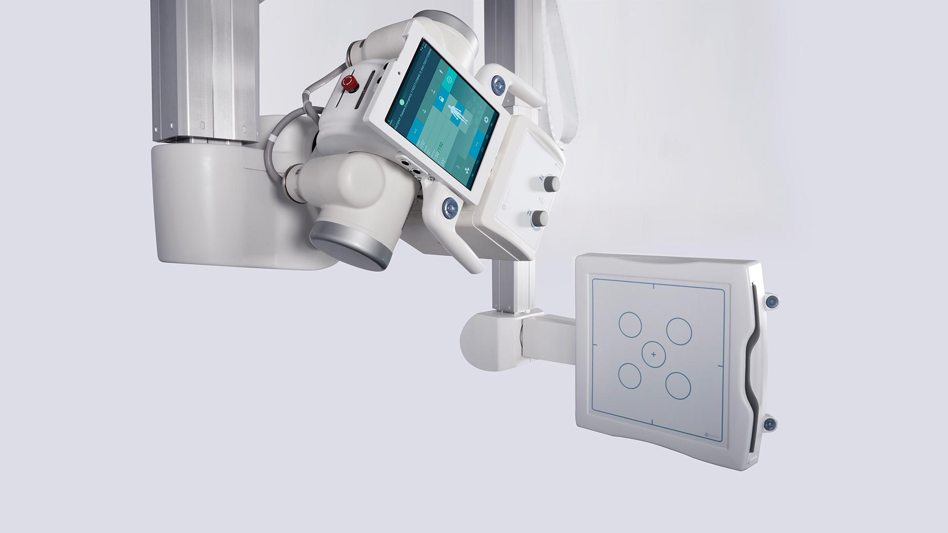 Röntgentechnik Deckengefuehrte Anlagen: Visaris Vision Air